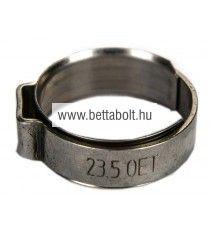 Bilincs betétgyűrűvel 9,8-11,8 mm