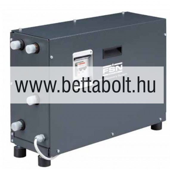 HRS 50 hőcserélő berendezés + installációs klt.