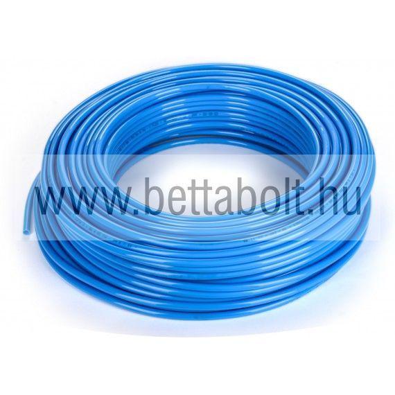 PE egyenes tömlő 4/2 mm kék