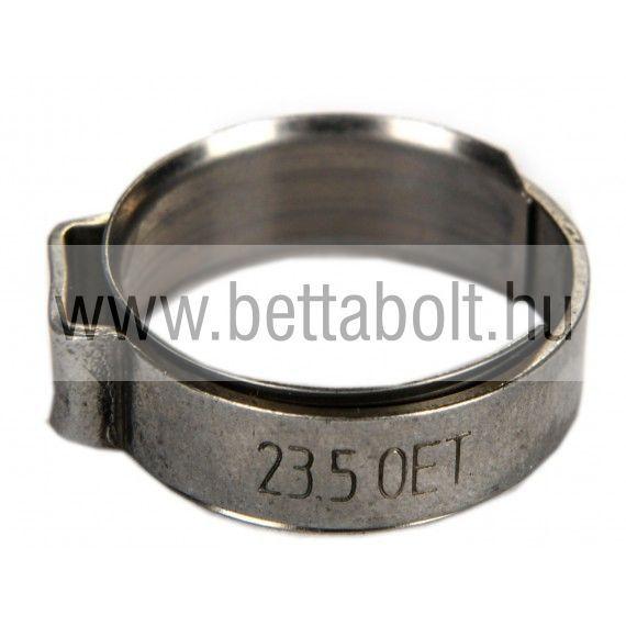 Bilincs betétgyűrűvel 15,6-17,8 mm