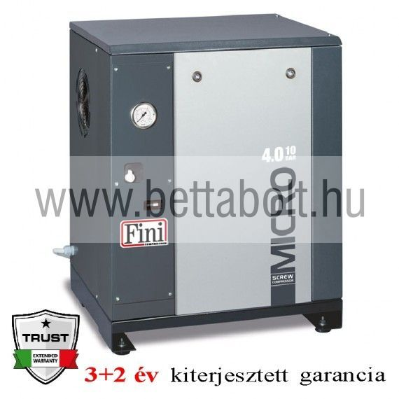 Csavarkompresszor MICRO 4.0-08 (IE3)