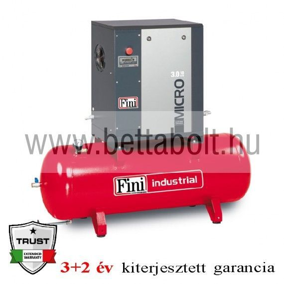 Csavarkompresszor MICRO 4.0-10-200 (IE3)