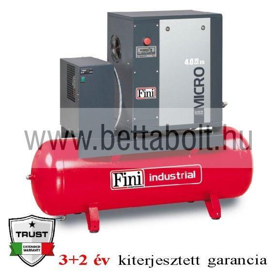 Csavarkompresszor hűtveszárítóval MICRO SE 3.0-10-200ES (IE3)