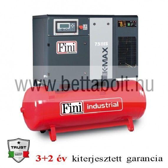 Csavarkompresszor hűtveszárítóval K-MAX 7,5-10-270F ES
