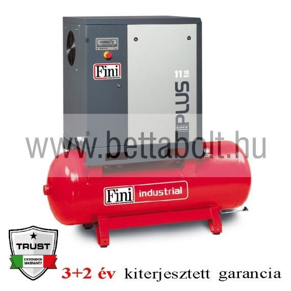 Csavarkompresszor PLUS 15-10-500 (IE3)
