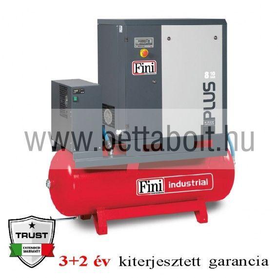 Csavarkompresszor hűtveszárítóval PLUS 8-10-270 ES (IE3)