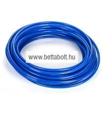 PA egyenes tömlő 12/10 mm kék