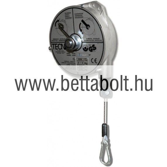Balanszer 2-4 kg 2500 mm