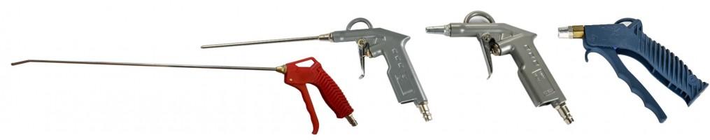 Lefúvató pisztolyok