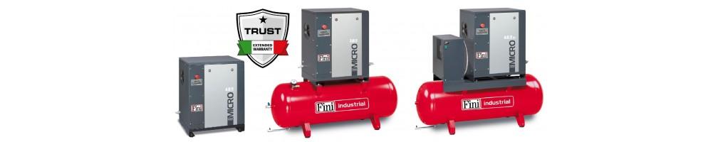 Micro csavarkompresszorok (2,2-5,5 kW)