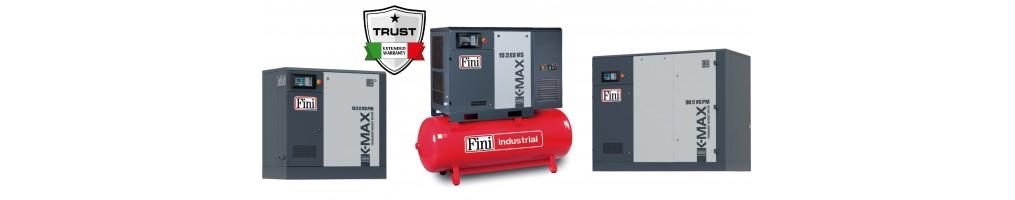 K-max csavarkompresszorok (5,5-90 kW)