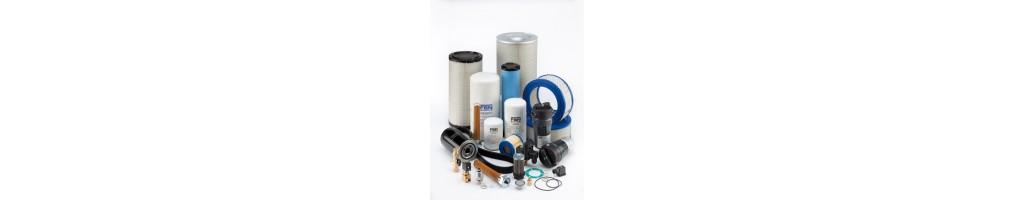 Légszűrők, olajszűrők, szaparátor szűrők csavarkompresszorokhoz