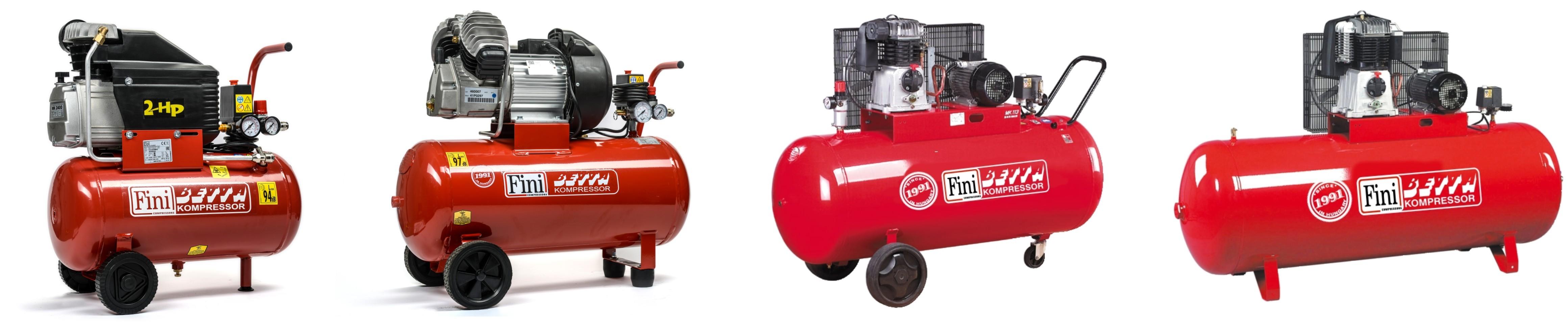 Dugattyús kompresszorok (0,4- 15 kW)