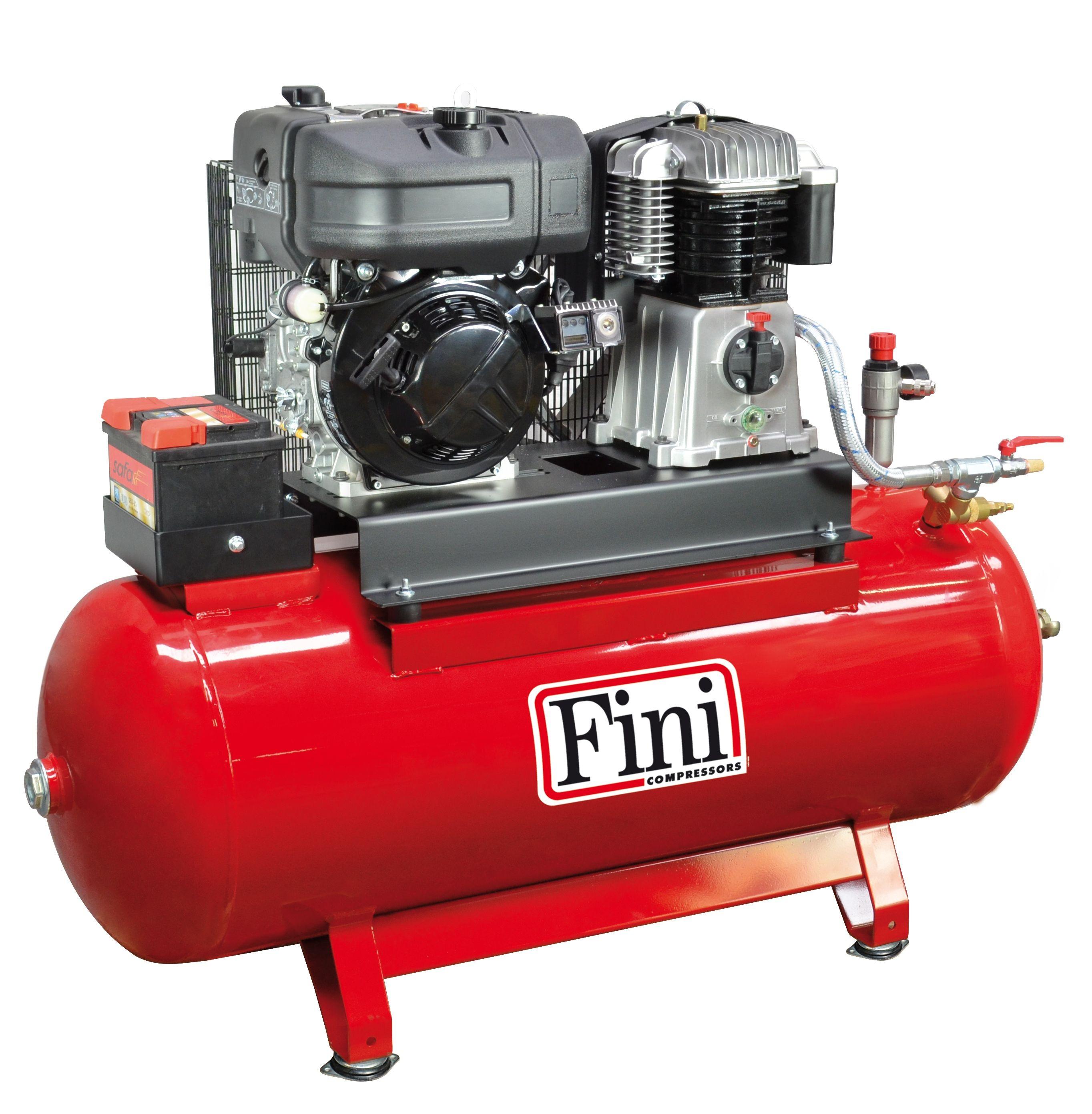 Építőipari kompresszorok (2,2-6,6 kW)