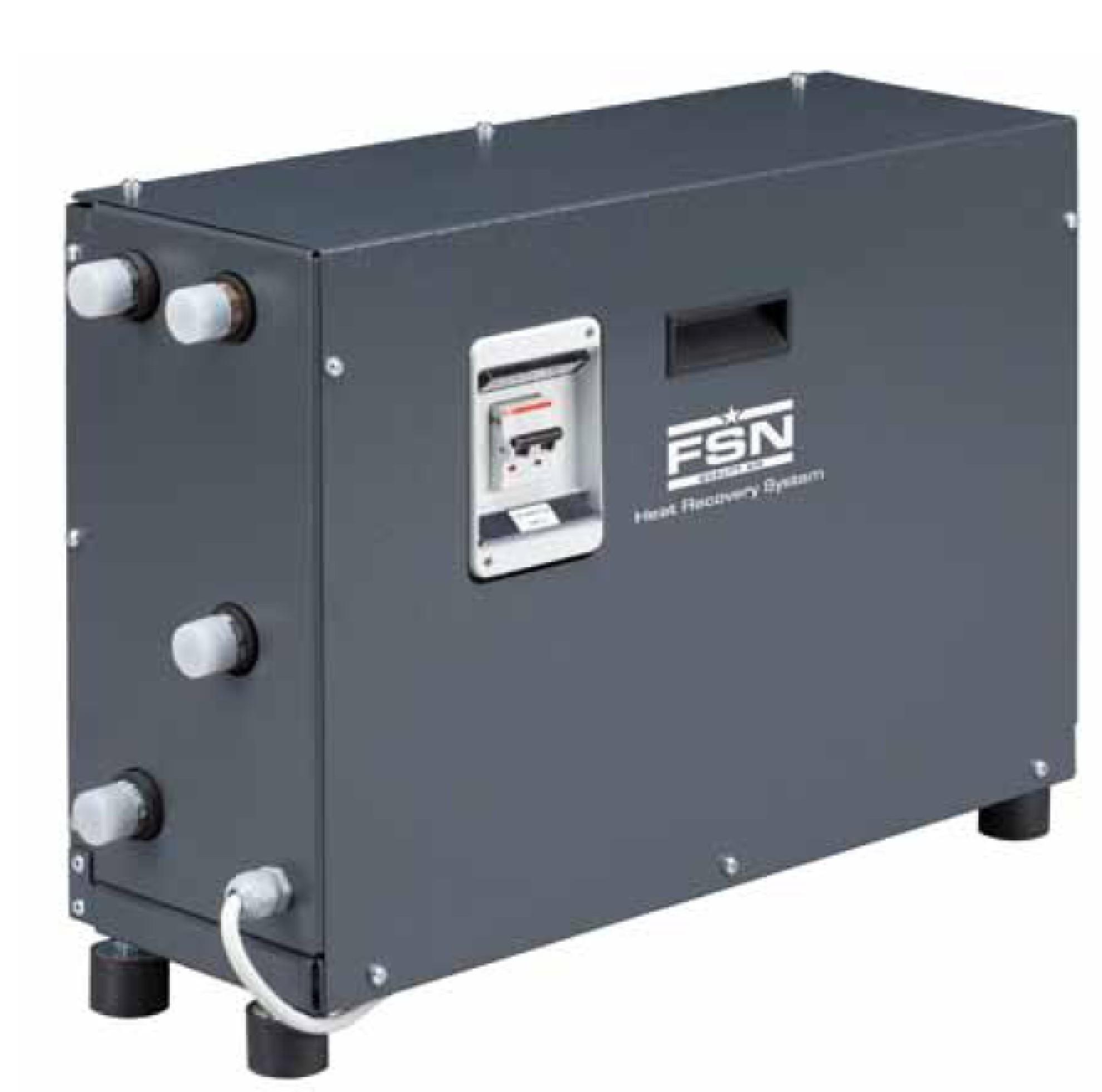 HRS hővisszanyerő rendszer