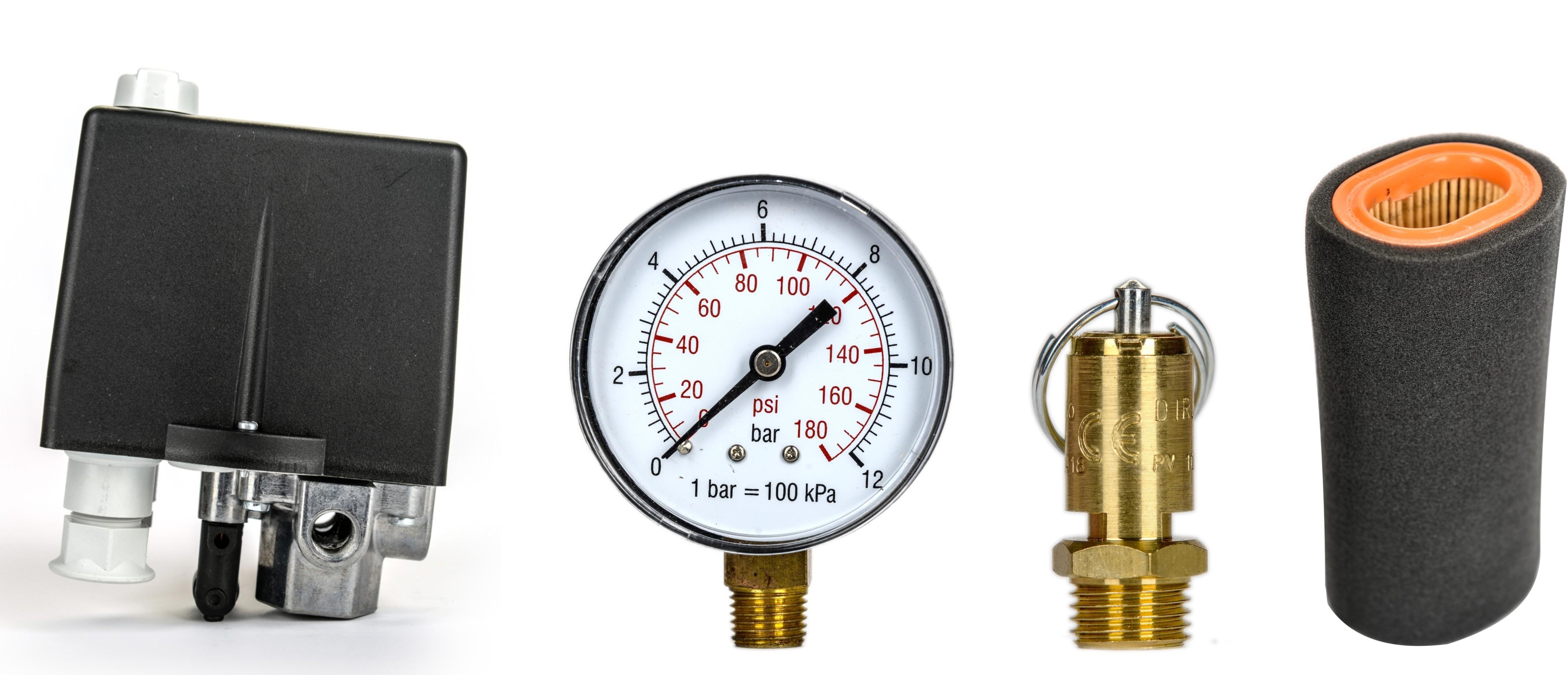 Tartozékok, alkatrészek, légszűrők, olajszűrők kompresszorokhoz