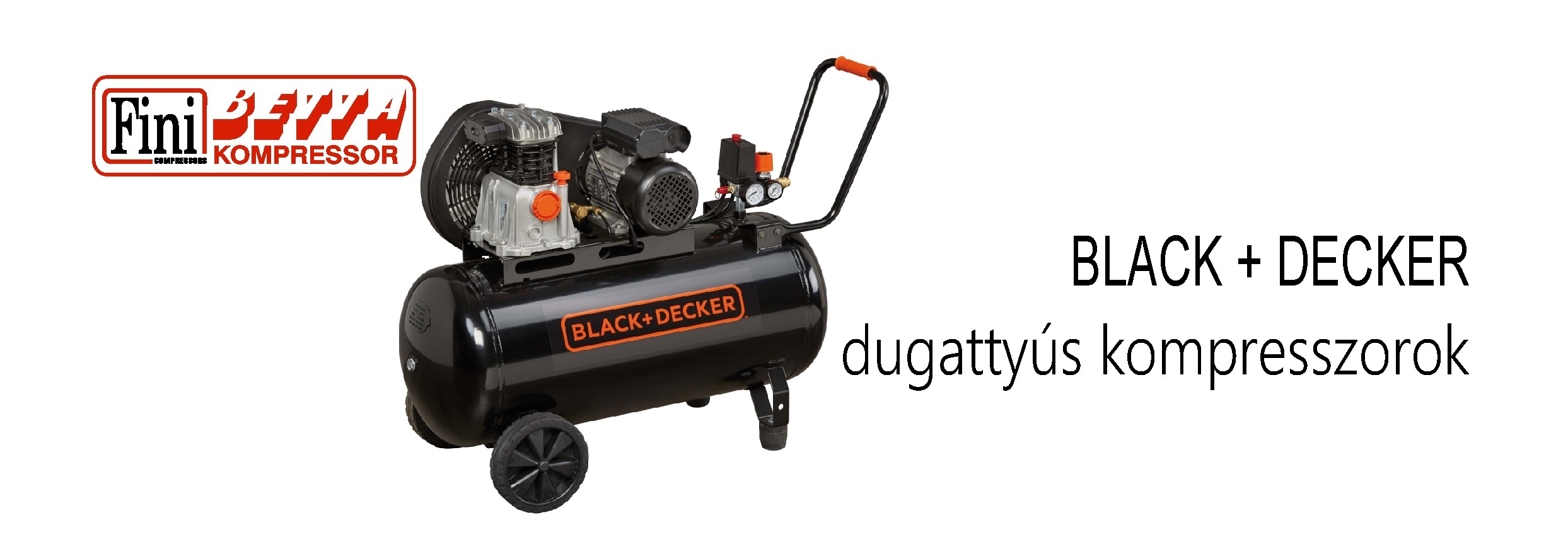 Black + Decker kompresszorok