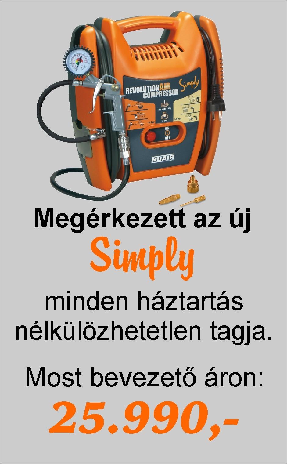 Simply barkács kompresszor